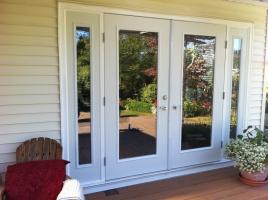 french doors exterior. PRODUCT CODE*** EESDDS3*** S/D/D/S STEEL DOOR C/W FULL CLEAR GLASS $2740 French Doors Exterior