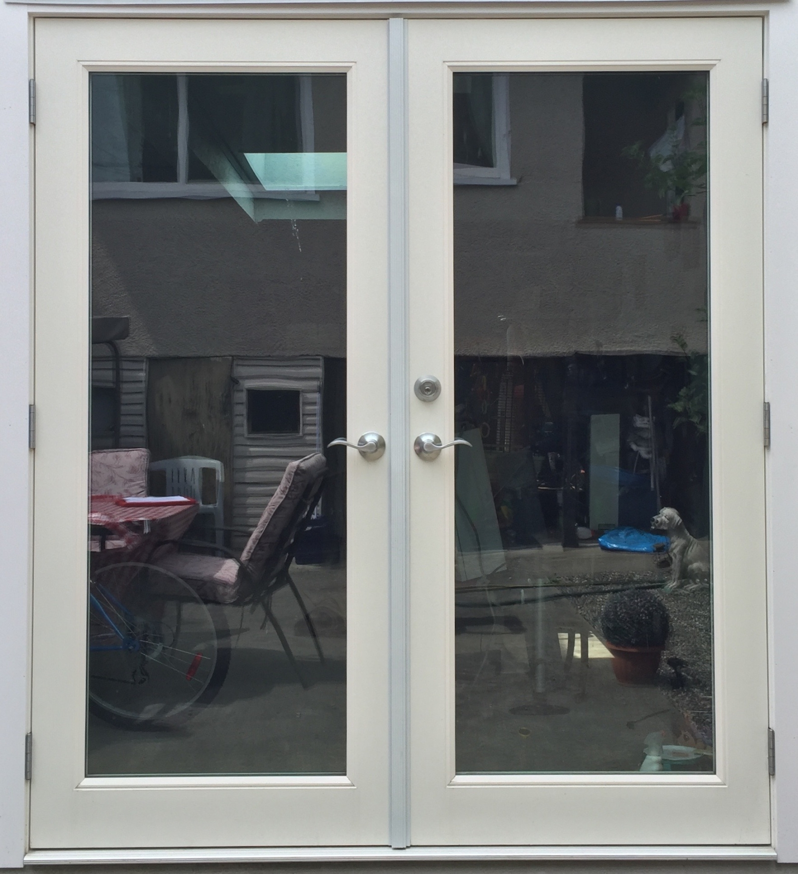 French patio doors doors galore for Oversized exterior french doors