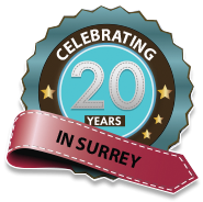 20 years Custom Doors Surrey